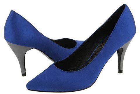 Exchange by Charles David Mod Blue Satin - Footwear