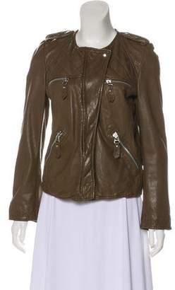 Etoile Isabel Marant Leather Biker Jacket
