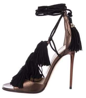 87072b191f0 Jimmy Choo Ankle Tie Women s Sandals - ShopStyle