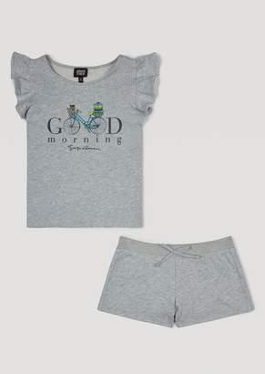 Armani Junior T-Shirt And Shorts Set