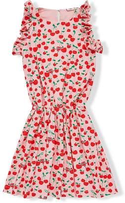 Fendi cherry print dress
