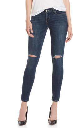 Levi's Elk Blue 535 Super Skinny Jeans