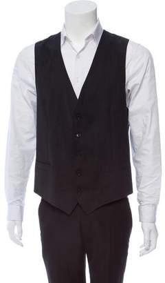 Dolce & Gabbana Virgin Wool Suit Vest