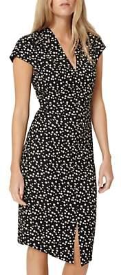 Damsel in a Dress Hexa Dress, Black/Beige
