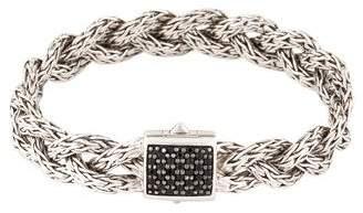 John Hardy Sapphire Small Braided Classic Chain Bracelet