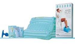 Inflatable Foot Bath Kit by Masada