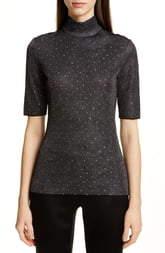 St. John Diamond Sparkle Knit Sweater