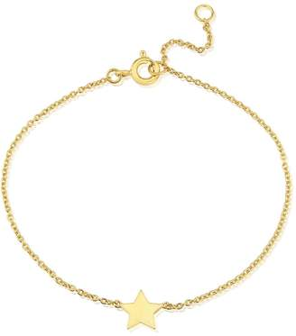 Auree Jewellery - Soho Yellow Gold Star Bracelet