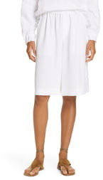 Vince Wide Leg Pull-On Shorts