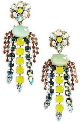 Loren Hope Flora Chandalier Earrings