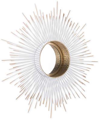 ZUO Splan Gold-Tone & White Mirror