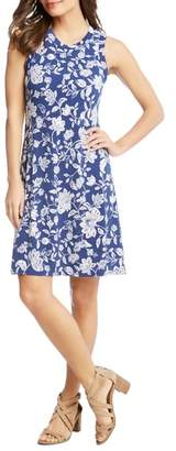 Karen Kane Floral Sleeveless Dress