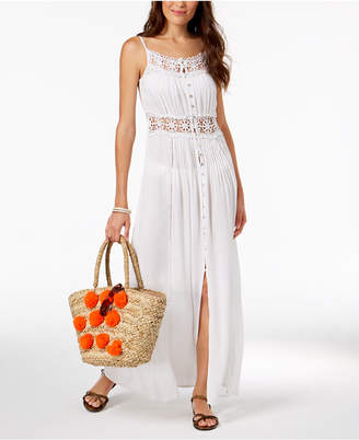 Raviya Crochet-Trim Cover-Up