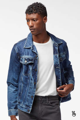 Noah Jacket In Stergo Recycled Selvedge