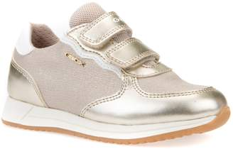Geox Jensea Metallic Accent Sneaker
