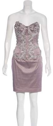 Mandalay Beaded Mini Dress w/ Tags
