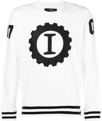 Hydrogen I embroidered sweatshirt