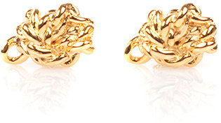 Wendy Nichol Jewelry Cassidy Knot Studs in Gold