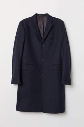 H&M Cashmere-blend Coat - Blue