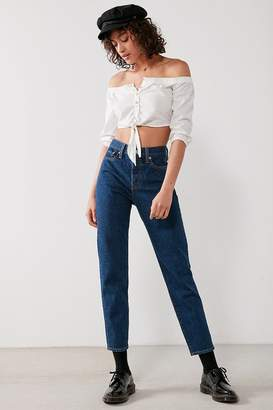Levi's Levi's Wedgie High-Rise Jean – Something Cheeky $98 thestylecure.com