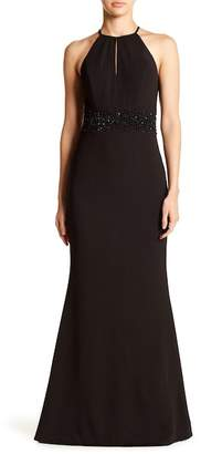 JS Boutique Front Keyhole Gown
