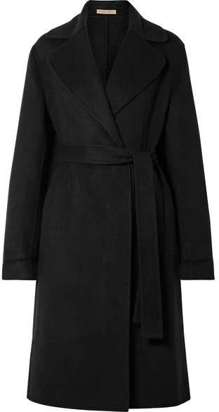 Cashmere Coat - Black