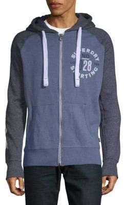 Superdry Sporting Raglan-Sleeve Full-Zip Hoodie