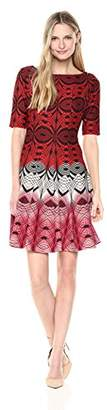 Julian Taylor Women's Fit and Flare Dress