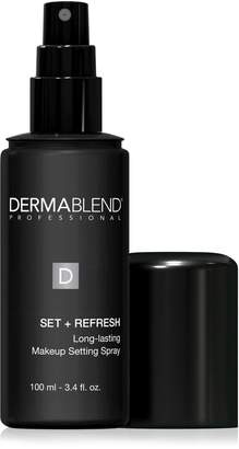 Dermablend Set Plus Refresh Long Lasting Makeup Setting Spray 3.4 Fluid Ounces