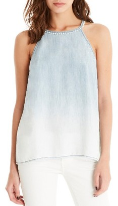Women's Michael Stars Ombre Chambray Tank $118 thestylecure.com