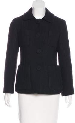 Marc Jacobs Textured Wool Jacket