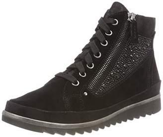 Jana Women's 8-8-25207-21 Ankle Boots, (Black 001)