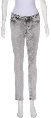 Karl Lagerfeld Mid-Rise Skinny Jeans