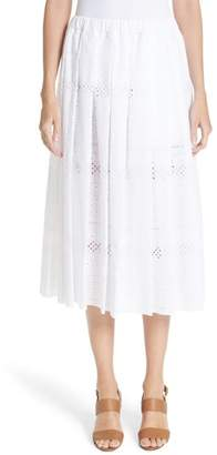 Comme des Garcons Eyelet Skirt