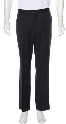 Isaia Wool Tuxedo Pants