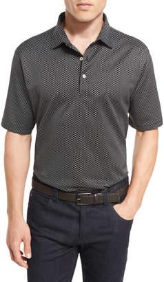Peter Millar Grandview Diamond Jacquard Polo Shirt