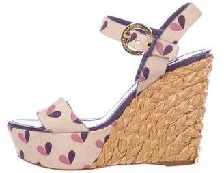 Louis Vuitton Tuileries Platform Wedges