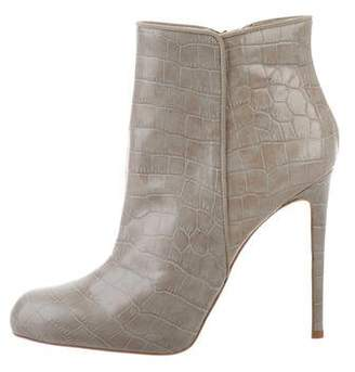 Stella McCartney Embossed Ankle Boots