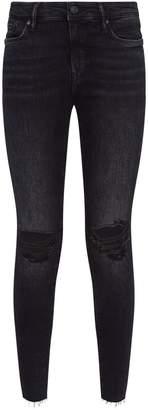 AllSaints Grace Ankle Frayed Jeans