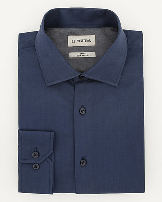 Le Château Cotton Twill Slim Fit Shirt