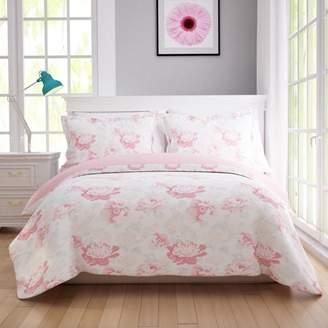 California Design Den English Floral Duvet Cover Set