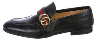 Gucci Marmont Web Loafers