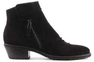 Kennel + Schmenger Kennel & Schmenger Monkwell Black Suede Low Heel Ankle Boot