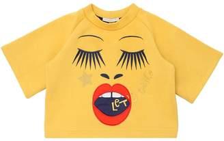 Raspberry Plum Let's Dance Double Jersey Sweatshirt