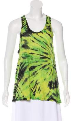 Proenza Schouler Sleeveless Tie-Dye Top