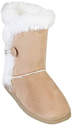 Dawgs Women's 9 inch 3 Button Microfiber Winter Boot