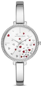 Michael Kors Jaryn Silver-Tone Watch, 36mm
