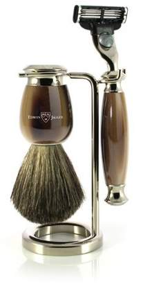 Jagger Edwin Simulated Horn and Nickel Shaving Set