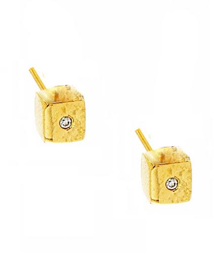 Ariel Gordon Jewelry :: Cube Studs