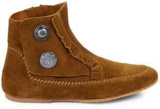 Giuseppe Zanotti Studded Leather Ankle Boots